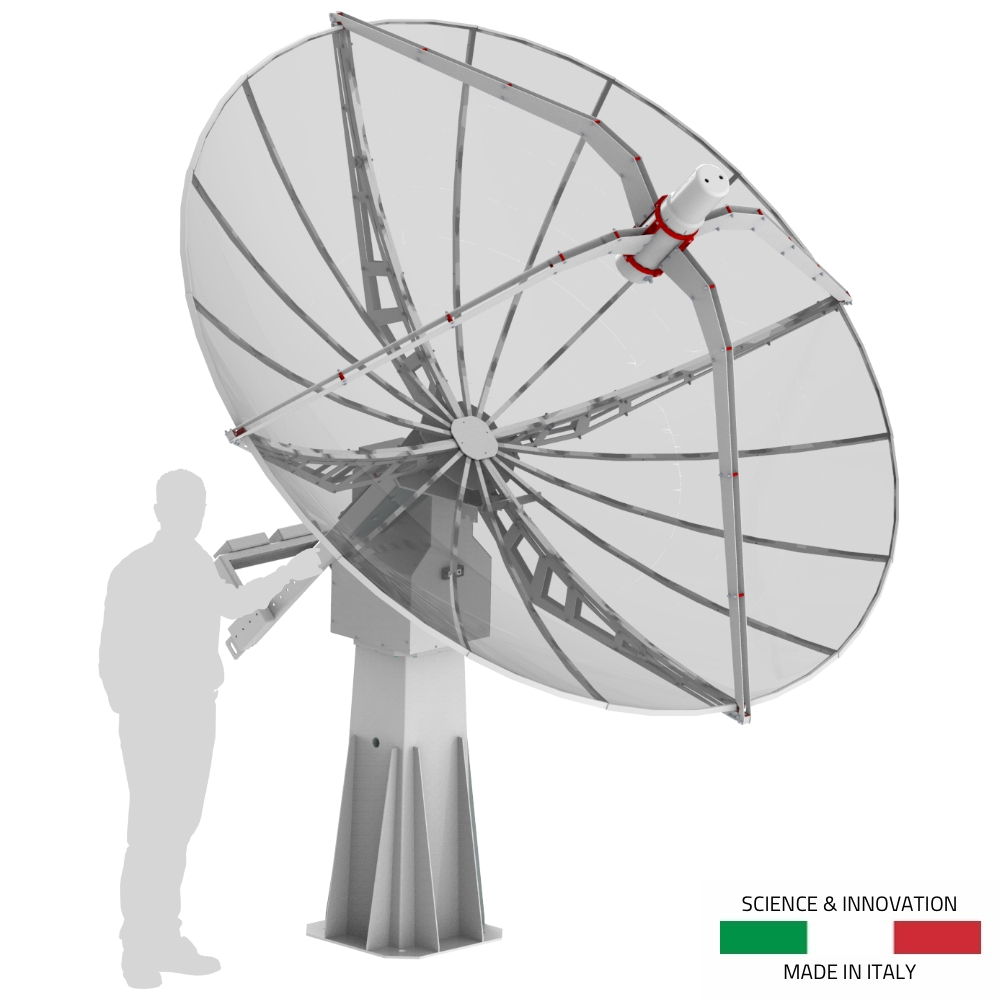 SPIDER-300A-3-0-meter-diameter-advanced-radio-telescope